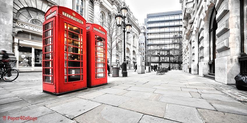 English Public Call-Box