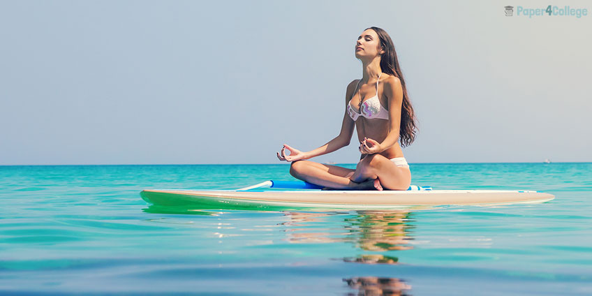 Girl Meditate