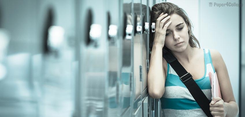 Nervous Student