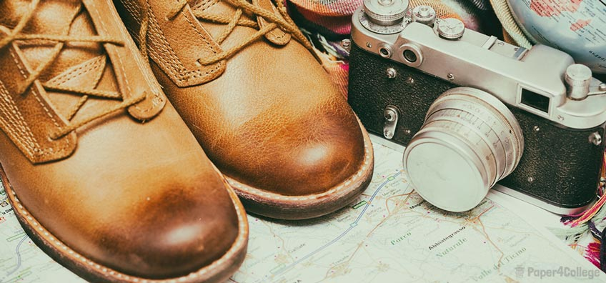 Pair of Traveler's Boots